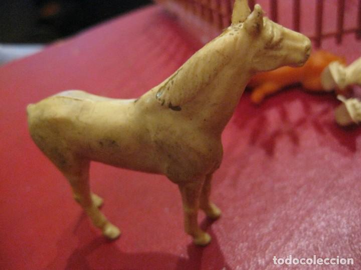 Figuras de Goma y PVC: figuras circo jecsan jaula vallado oso trapecistas leon perro foca animales asno lobo - Foto 16 - 164979622