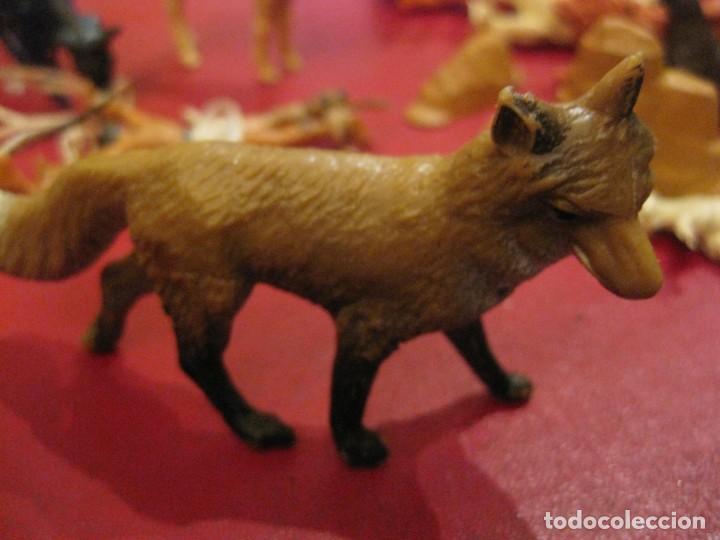 Figuras de Goma y PVC: figuras circo jecsan jaula vallado oso trapecistas leon perro foca animales asno lobo - Foto 19 - 164979622