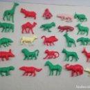 Figuras de Goma y PVC: FIGURAS ANTIGUAS DE DUNKIN ORZOWEI... LOTE DE 25 ANIMALES.. MARCA TITO..AÑOS 70/80... . Lote 164980602