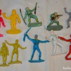 Figuras de Goma y PVC: LOTE DE SOLDADOS Y FIGURAS VARIADAS - COMANSI , PECH Y OTRAS - MADE IN SPAIN - VINTAGE - ¡MIRA!. Lote 165229937
