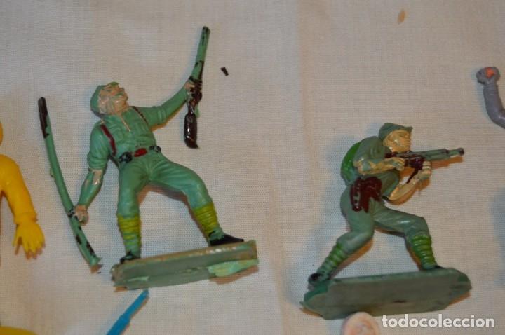 Figuras de Goma y PVC: LOTE DE SOLDADOS y FIGURAS VARIADAS - COMANSI , PECH y OTRAS - MADE IN SPAIN - VINTAGE - ¡MIRA! - Foto 3 - 165229937