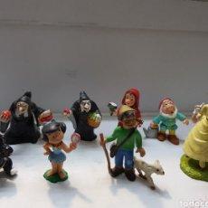 Figuras de Goma y PVC: FIGURAS GOMA DISNEY AÑOS 80 LOTE 8 ALGUNA ESCASA. Lote 165236617