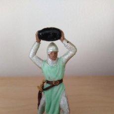 Figuras de Goma y PVC: FIGURA DE PVC JECSAN MEDIEVALES SERIE CRUZADOS . Lote 165244782