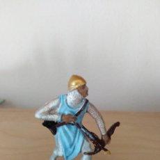 Figuras de Goma y PVC: FIGURA DE PVC JECSAN MEDIEVALES SERIE CRUZADOS . Lote 165245074