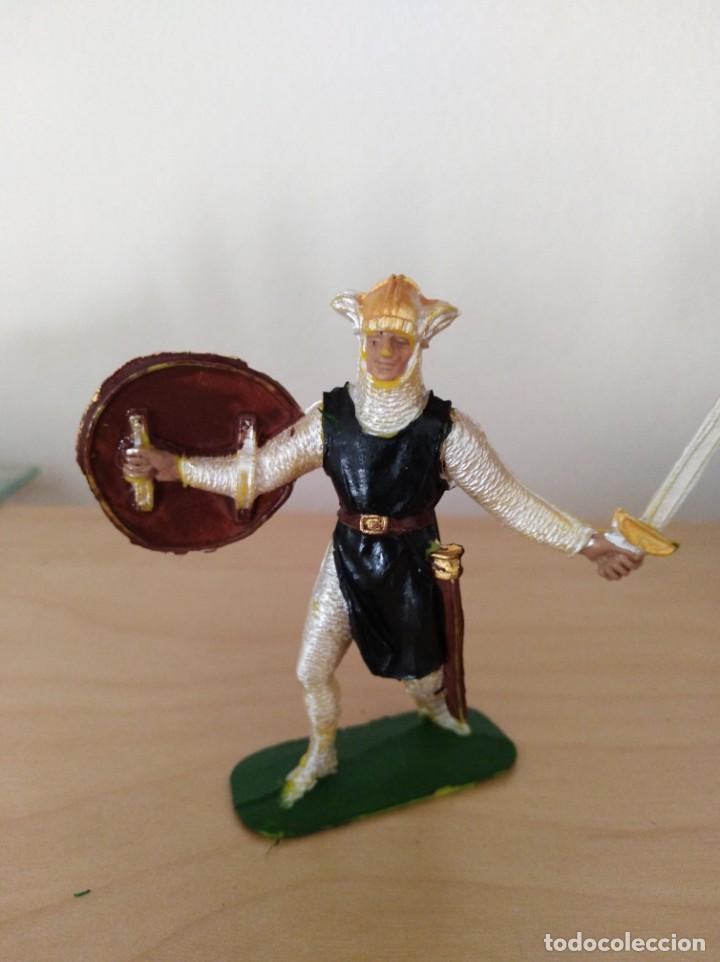 FIGURA DE PVC JECSAN MEDIEVALES SERIE CRUZADOS (Juguetes - Figuras de Goma y Pvc - Jecsan)