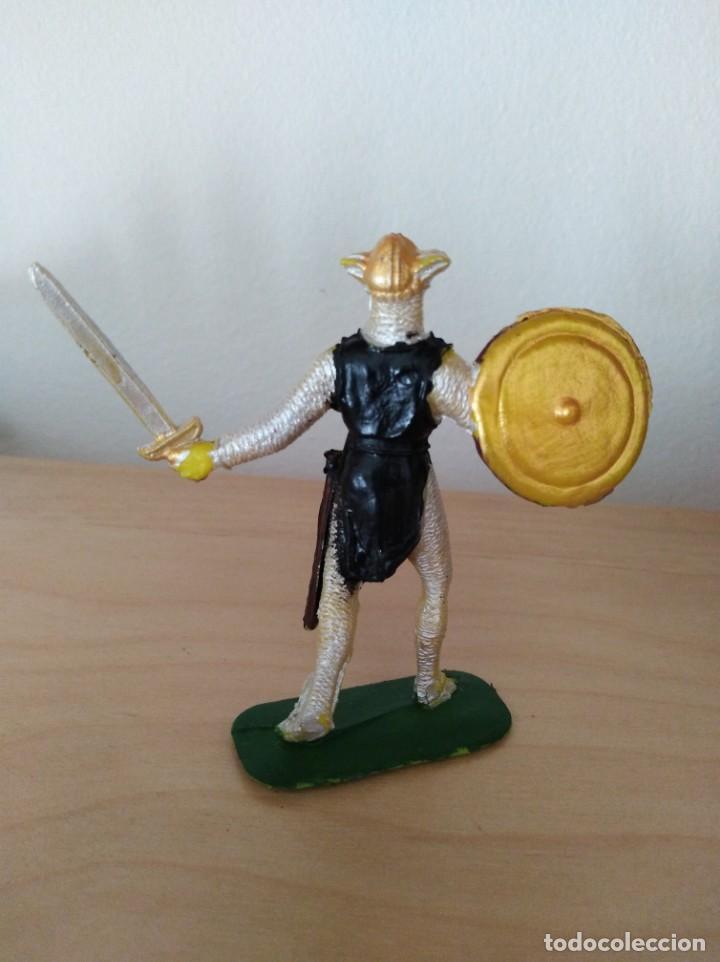 Figuras de Goma y PVC: Figura de pvc jecsan medievales serie cruzados - Foto 2 - 165245206