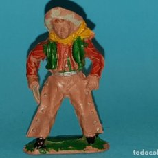 Figuras de Goma y PVC: VAQUERO DE LAFREDO, EN GOMA, AÑO 1955 (TIPO PECH, JESAN, REAMSA). Lote 165304042