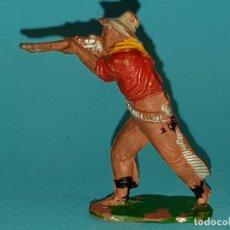 Figuras de Goma y PVC: VAQUERO DE LAFREDO, EN GOMA, AÑO 1955 (TIPO PECH, JESAN, REAMSA). Lote 165304446