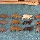 Figuras de Goma y PVC: LOTE 12 FIGURAS ANIMALES DETERGENTES OMO AÑOS 70..SALIDA 1 EURO. Lote 165316474