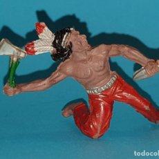 Figuras de Goma y PVC: INDIO LAFREDO, GOMA 60MM (TIPO REAMSA, JECSAN, PECH). Lote 165409910