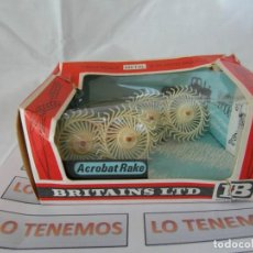 Figuras de Goma y PVC: ACCESORIO PARA TRACTOR BRITAINS LTD ACROBAT RAKE. Lote 207811190