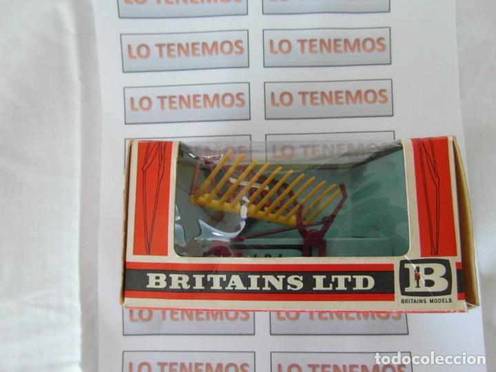 Figuras de Goma y PVC: accesorio para tractor BRITAINS LTD BUCK RAKE - Foto 2 - 165485762