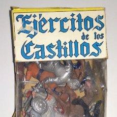 Figuras de Goma y PVC: JECSAN EJERCITOS DE LOS CASTILLOS FIGURAS PLASTICO FLEXIBLE GOMA PVC PINTADAS DECORADAS EXIN. Lote 165516718