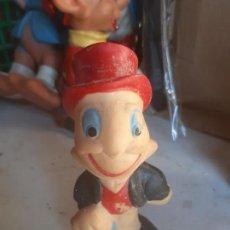 Figuras de Goma y PVC: PEPE GRILLO DE GOMA ANTIGUO. Lote 165531658