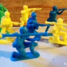 Figuras de Goma y PVC: FIGURAS DE JECSAN MONOCOLOR. Lote 165579830