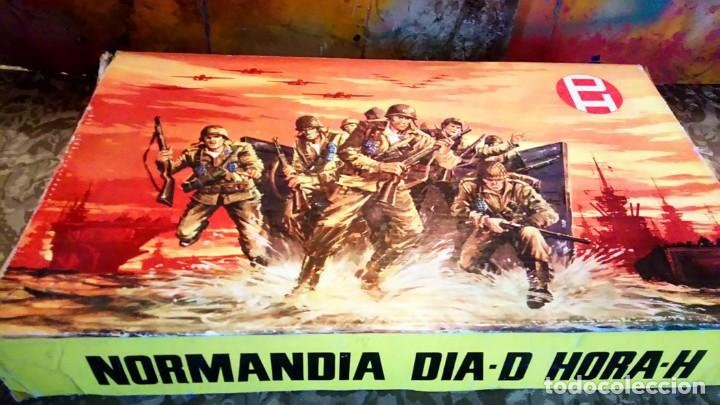 Figuras de Goma y PVC: CAJA DEL DESEMBARCO DE NORMANDÍA DE PECH - Foto 4 - 165585202