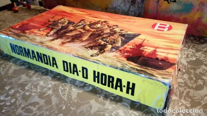 Figuras de Goma y PVC: CAJA DEL DESEMBARCO DE NORMANDÍA DE PECH - Foto 5 - 165585202