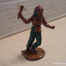 Figuras de Goma y PVC: FIGURA DE GOMA INDIO GAMA. Lote 165635834