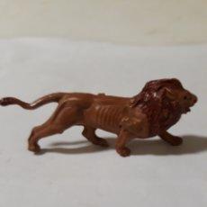 Figuras de Goma y PVC: FIGURA LEON GOMA PECH,JECSAN,REAMSA. Lote 165656576