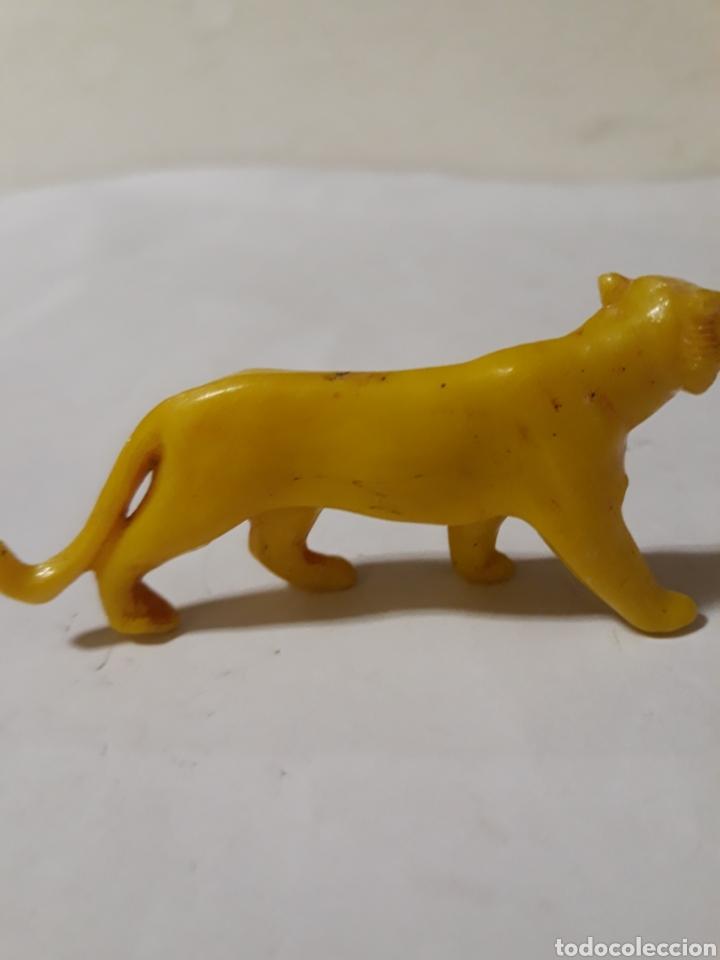 Figuras de Goma y PVC: FIGURA RARA LEONA PLASTICO DURO BAQUELITA PECH ,JECSAN,REAMSA - Foto 2 - 165657212