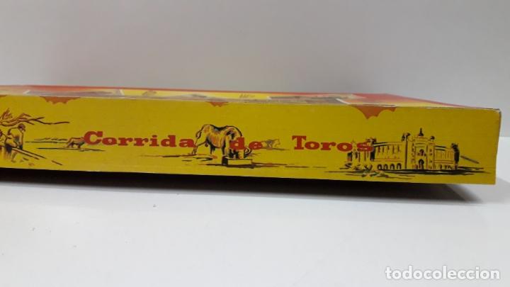 Figuras de Goma y PVC: CAJA ORIGINAL DE TOREROS Y TOROS . REALIZADA POR PECH . AÑOS 60 - Foto 6 - 165709130