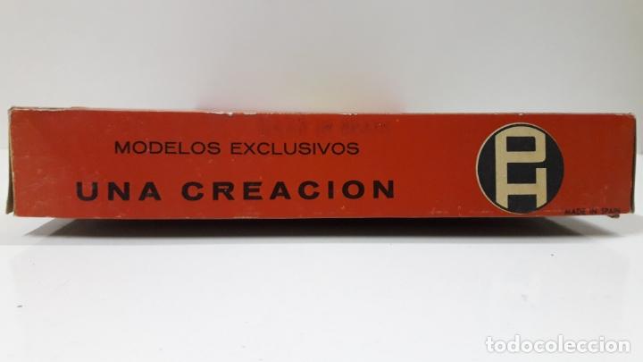 Figuras de Goma y PVC: CAJA ORIGINAL DE TOREROS Y TOROS . REALIZADA POR PECH . AÑOS 60 - Foto 7 - 165709130