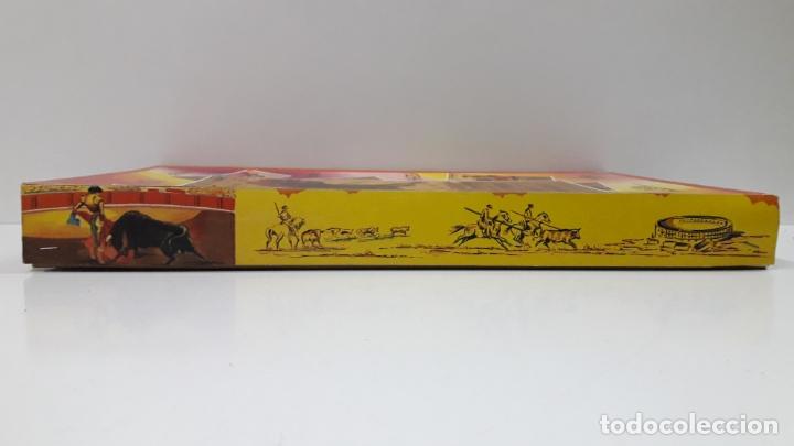 Figuras de Goma y PVC: CAJA ORIGINAL DE TOREROS Y TOROS . REALIZADA POR PECH . AÑOS 60 - Foto 9 - 165709130