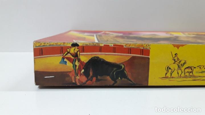 Figuras de Goma y PVC: CAJA ORIGINAL DE TOREROS Y TOROS . REALIZADA POR PECH . AÑOS 60 - Foto 10 - 165709130