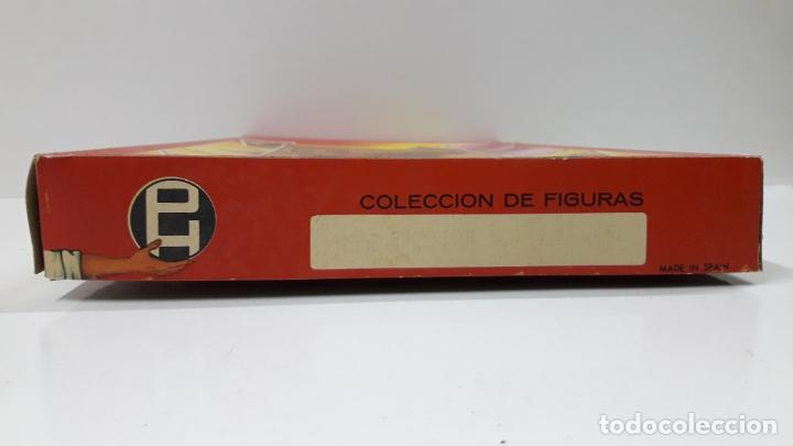Figuras de Goma y PVC: CAJA ORIGINAL DE TOREROS Y TOROS . REALIZADA POR PECH . AÑOS 60 - Foto 12 - 165709130