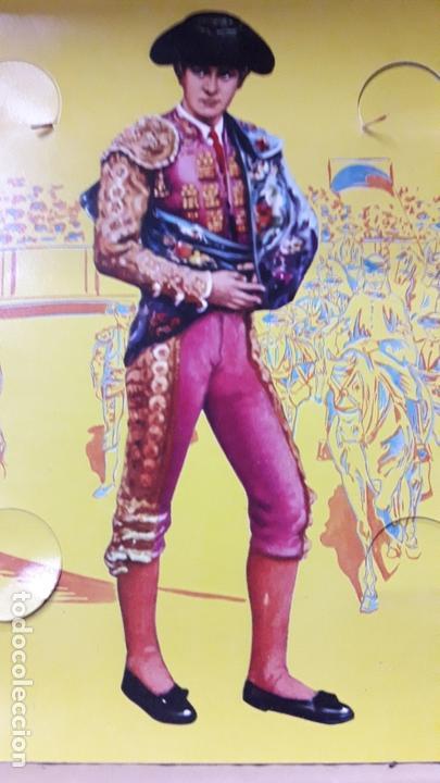 Figuras de Goma y PVC: CAJA ORIGINAL DE TOREROS Y TOROS . REALIZADA POR PECH . AÑOS 60 - Foto 14 - 165709130