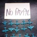 Figuras de Goma y PVC: IÑI LOTE 15 AVIÓN AZUL PIPERO PIPAS DUNKIN KIOSKO TIPO MONTAPLEX. Lote 165741010