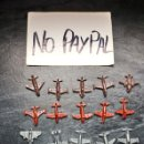 Figuras de Goma y PVC: IÑI LOTE 20 AVIÓN PIPERO PIPAS DUNKIN KIOSKO TIPO MONTAPLEX. Lote 165741254