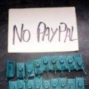 Figuras de Goma y PVC: IÑI LOTE 18 TANQUE BODY AZUL MONTAPLEX. Lote 165741852