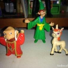 Figuras de Goma y PVC: LOTE 3 FIGURAS COMICS SPAIN DRAGONES Y MAZMORRAS AÑOS 80. Lote 165772534