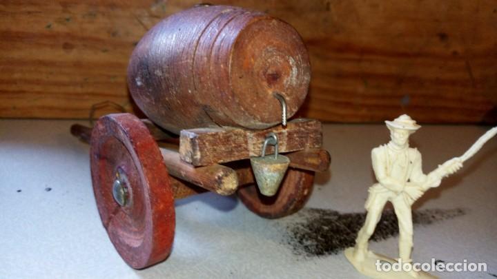 ALCA/CAPELL--CARRO DE AGUA EN MADERA (Juguetes - Figuras de Goma y Pvc - Teixido)