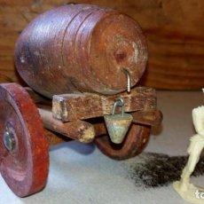 Figuras de Goma y PVC: ALCA/CAPELL--CARRO DE AGUA EN MADERA. Lote 165783834