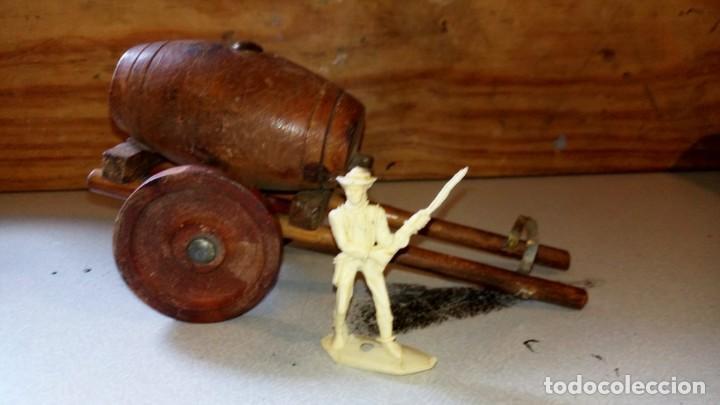 Figuras de Goma y PVC: ALCA/CAPELL--CARRO DE AGUA EN MADERA - Foto 2 - 165783834