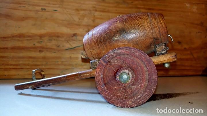 Figuras de Goma y PVC: ALCA/CAPELL--CARRO DE AGUA EN MADERA - Foto 3 - 165783834