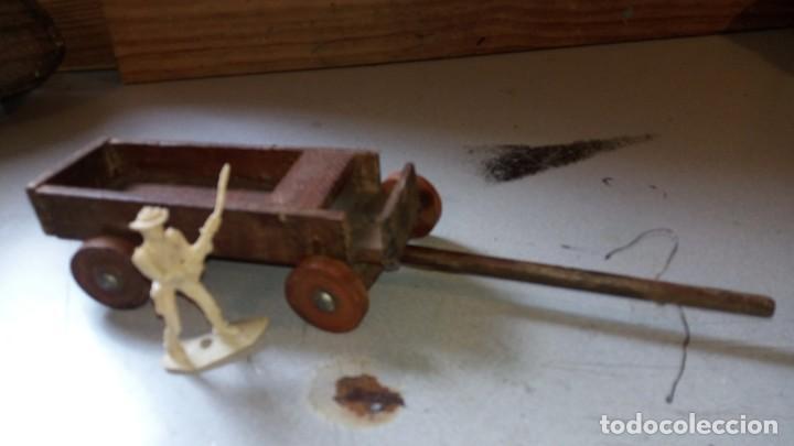 CARRETA EN MADERA DE ALCA/CAPELL (Juguetes - Figuras de Goma y Pvc - Teixido)