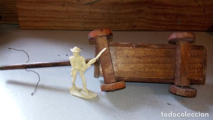 Figuras de Goma y PVC: CARRETA EN MADERA DE ALCA/CAPELL - Foto 3 - 165784406