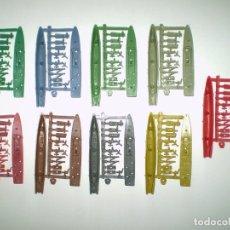 Figuras de Goma y PVC: MONTAPLEX - 9 COLADAS DEL BARCO ARIZONA Nº 438 - COLORES DIFERENTES. Lote 165818446