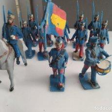 Figuras de Goma y PVC: LOTE DE FIGURITAS DE DESFILE REAMSA ESPAÑOLES . Lote 165929214