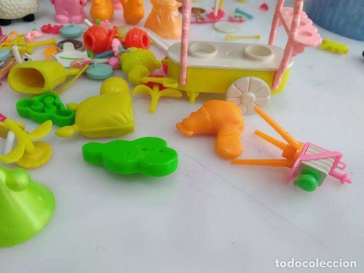 Figuras de Goma y PVC: ANTIGUOS MUÑECOS LOTE DE PIN Y PON DE FAMOSA - Foto 10 - 165940230