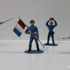 Figuras de Goma y PVC: FRANCESES - SOLDADOS DEL MUNDO . REALIZADOS POR COMANSI . AÑOS 70. Lote 166010690