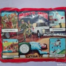 Figuras de Goma y PVC: MONTAPLEX MONTA-MAN EXTRA 11. Lote 166031088
