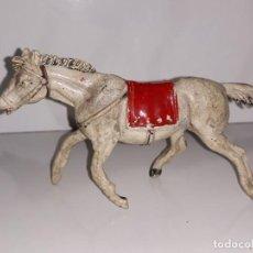 Figuras de Goma y PVC: PECH HERMANOS : ANTIGUA FIGURA DE GOMA CABALLO OESTE AÑOS 50. Lote 166087114