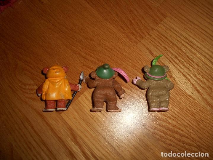 Figuras de Goma y PVC: 3 FIGURAS PVC TEEBO KNEESA EWOKS STAR WARS COMICS SPAIN AÑOS 80 - Foto 3 - 166139774