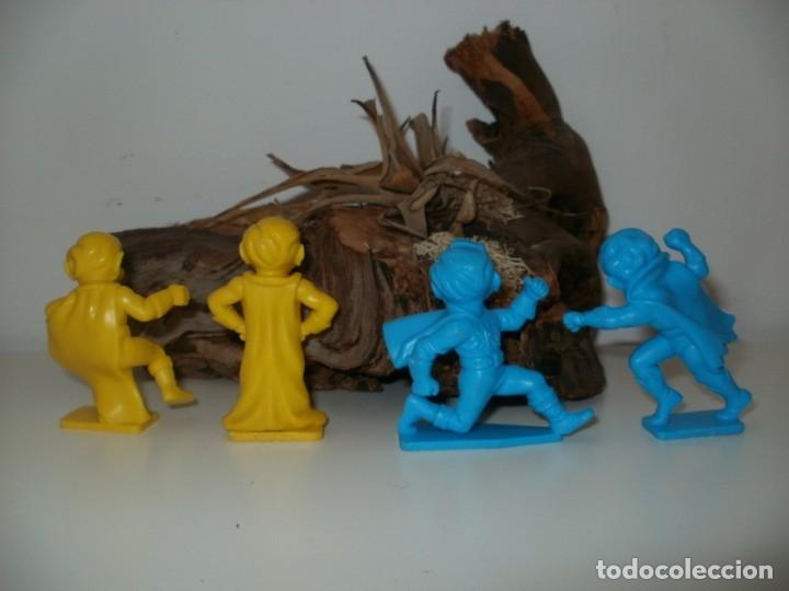 Figuras de Goma y PVC: LOTE FIGURAS DE PLASTICO DURO KELLOGGS POP - Foto 2 - 166153190