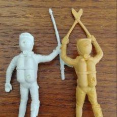 Figure di Gomma e PVC: 2 SUBMARINISTAS BUZOS PECH. Lote 166275133