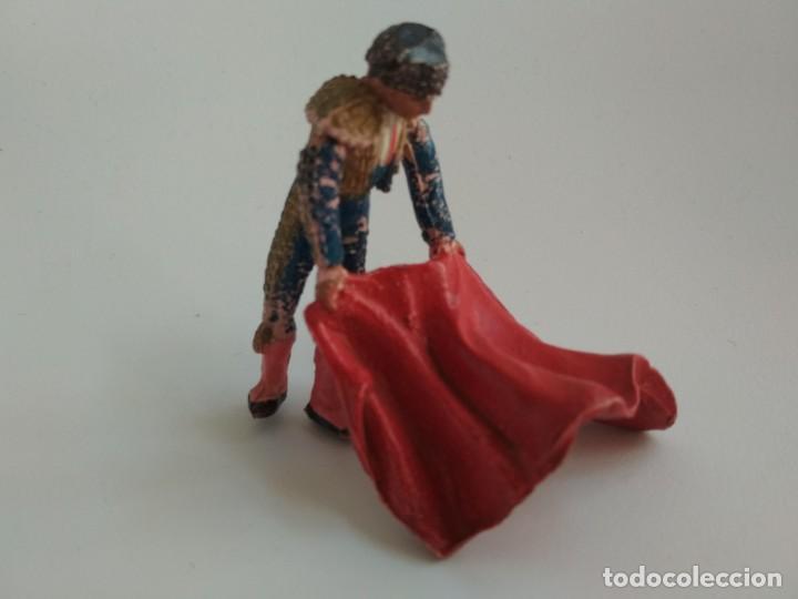 FIGURA TORERO AÑOS 60 (Juguetes - Figuras de Goma y Pvc - Teixido)